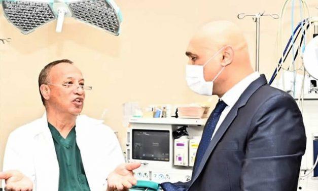 Lors du lancement d'un nouveau 'Advanced Laparoscopic Colonic Surgery', mercredi dernier, à l'hôpital Jeetoo…