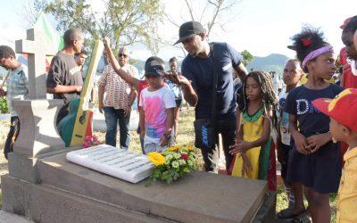 Kaya… un vibrant hommage dimanche dernier à Roche-Bois…