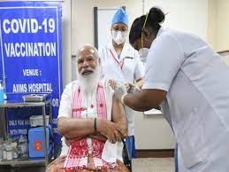 Times of India: PM Modi sends out key message as he takes Covaxin shot…