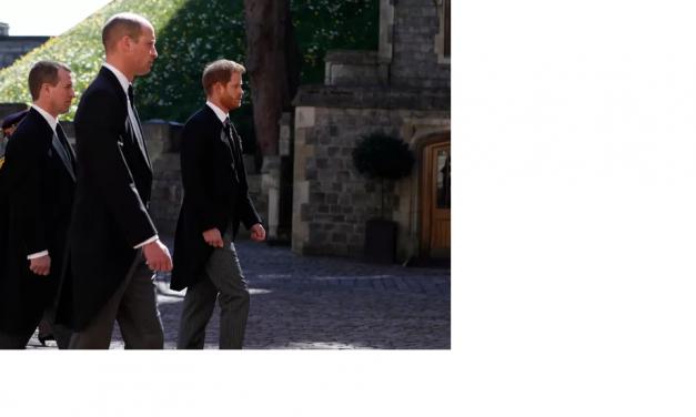 Les princes William et Harry apparaissent unis aux funérailles de leur grand-père…