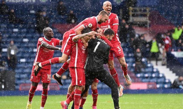 Les miracles existent…Alisson Becker marque un but d'anthologie pour donner la victoire à Liverpool face à West Bromwich Albion…