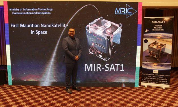 Le premier nanosatellite mauricien est arrivé à la Station spatiale internationale…