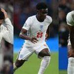 Les joueurs anglais qui ont manqué leur tir au but visés par des insultes racists…